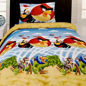 DJEČIJA POSTELJINA ANGRY BIRDS SEASONS 160X200 3/1