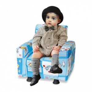 Fotelja za djecu PLAVA