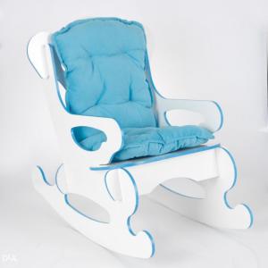 Dječija stolica za ljuljanje PLAVA