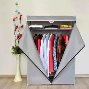 Platneni Ormar za Odjeću BASIC (SIVI)