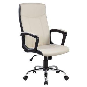 Kancelarijska fotelja 9327 (Bež/Crna)