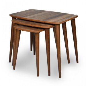 Set klub stolova TONIK (orah)