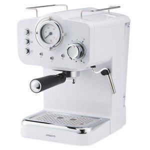 Retro espresso kafe aparat AMBIANO (BIJELI)