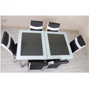 Trpezarijski stol na razvlačenje AND 535, staklo