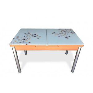 Trpezarijski stol na razvlačenje AND 102A, staklo