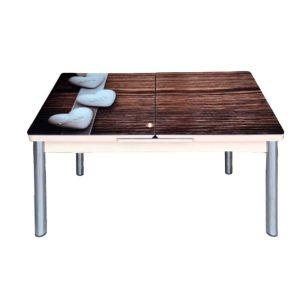Trpezarijski stol na razvlačenje AND 108, staklo