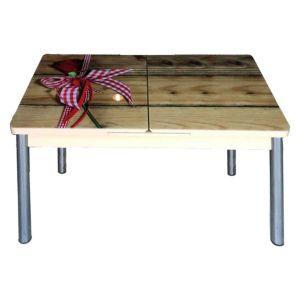 Trpezarijski stol na razvlačenje AND 144, staklo