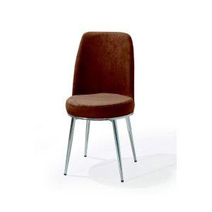 Trpezarijska stolica GOLD (smeđa)