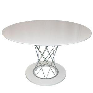 Trpezarijski stol A2028x (Bijeli, visoki sjaj)