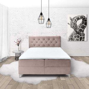 Bračni krevet boxspring TITTO (PINK)