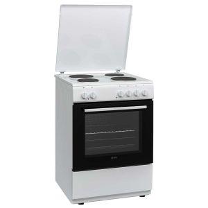 Električni Štednjak VOX EHT6020WG; 4 zone kuhanja; 50l zapremina; A