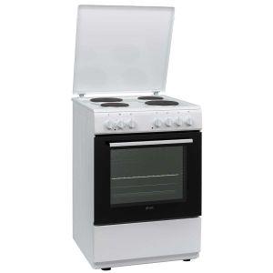 Električni Štednjak VOX ETR6025WG; 4 zone kuhanja; 69l zapremina; A