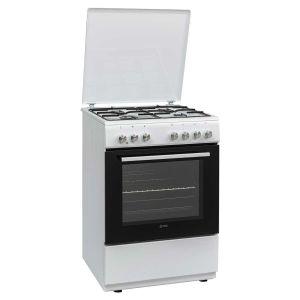 Kombinovani Štednjak VOX GTR64000W; 4 zone kuhanja; 65l zapremina; A