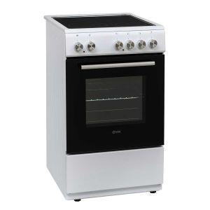 Staklokeramički Štednjak VOX CHT5000W; 4 zone kuhanja; 50l zapremina; A