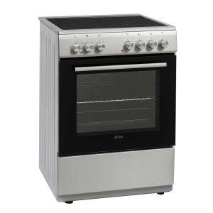 Staklokeramički Štednjak VOX CRT6305IX; 4 zone kuhanja; 69l zapremina; A