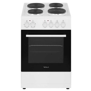 Električni štednjak TESLA CS5400SW; 4 zone kuhanja; 48l; A