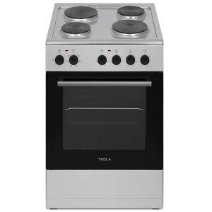 Električni štednjak TESLA CS5400SX; 4 zone kuhanja; 48l; A