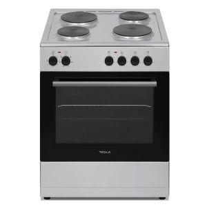Električni štednjak TESLA CS6400SX; 4 zone kuhanja; 62l; A