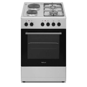 Kombinovani štednjak TESLA CM52202SX; 4 zone kuhanja; 43l; A