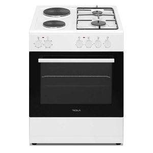Kombinovani štednjak TESLA CM6220SW; 4 zone kuhanja; 56l; A