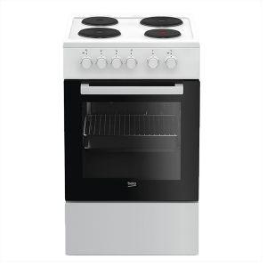 Električni Štednjak BEKO FSS 56000 GW, A, 4 zone za kuhanje, 55l zapremina pećnice