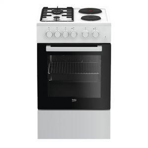 Električni Štednjak BEKO FSS 54010 DW, A, 4 zone za kuhanje, 60l zapremina pećnice