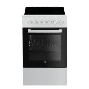 Električni Štednjak BEKO FSS 57100 GW, A, 4 zone za kuhanje, 60l zapremina pećnice