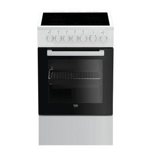 Električni Štednjak BEKO FSE 57110 GW, A, 4 zone za kuhanje, 55l zapremina pećnice