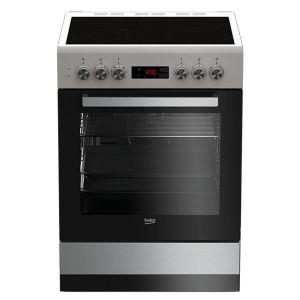 Električni Štednjak BEKO FSM 67320 GXS, A, 4 zone za kuhanje, 72l zapremina pećnice
