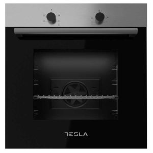 Ventilatorska ugradbena pećnica TESLA BO300SX; 56l; A; 2300W