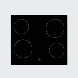 Ugradbena ploča BEKO HCU 64401 X; Staklokeramička; Kontrole na dodir
