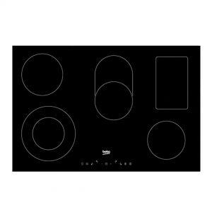 Ugradbena ploča BEKO HIC 85402 T; Staklokeramička ploča 80cm; 5 zona (1 dupla+1 proširena);  Slim Touch kontrole