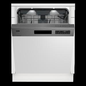 Poluugradbena mašina za suđe BEKO DSN 26420 X, 60cm, 14 kompleta, A++, 6 programa