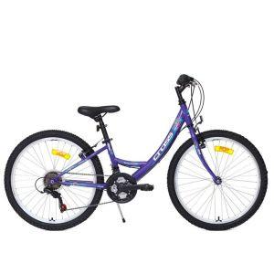 """Biciklo CROSS ALISSA; 24""""; čelični okvir; (ljubičasta)"""