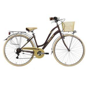 """Biciklo CINIZIA VIAGGIO Lady; 28""""; (Metal Tobacco)"""