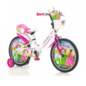 "Biciklo CORELLI LOVELY; 20""; aluminijum; (bijela/pink)"