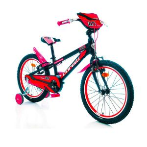"""Biciklo CORELLI FORMULA; 20""""; aluminijum; (crna/crvena)"""